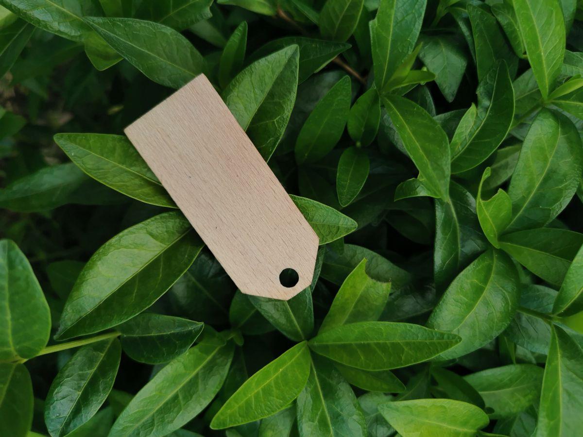 Dřevěná jmenovka