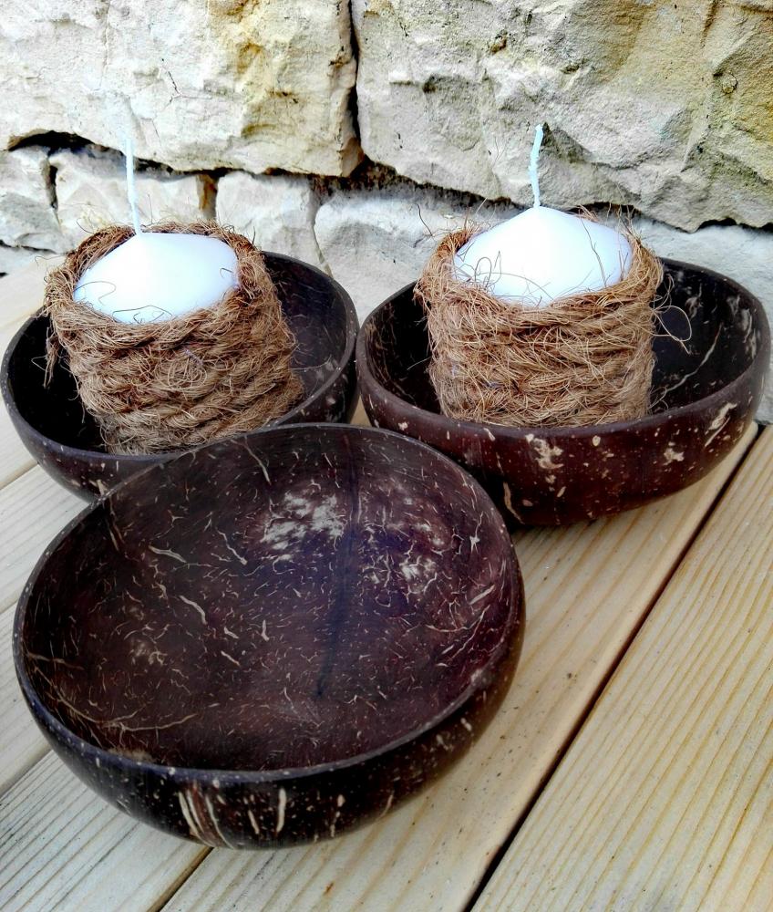 Kokosová miska - natural